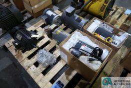 (LOT) (6) MISCELLANEOUS HP ELECTRIC MOTORS