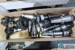 CAT 50 TAPER TOOLHOLDERS WITH CRATE