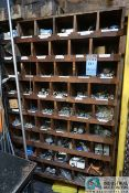 (LOT) LARGE ASSORTMENT BLACK IRON PIPE AND ELECTRICAL HARDWARE OF REDUCERS, FITTINGS, PLUGS,