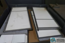 (LOT) (3) CRATES TRADE SHOW PARTITIONS