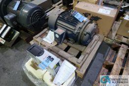 10 HP ALLEN BRADLEY ELECTRIC MOTOR WITH ALLEN-BRADLEY POWERFLEX 755 AC DRIVE