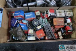 CRATE MISCELLANEOUS BEARINGS