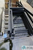 """SECTION 24"""" X 72"""" X 72"""" HIGH LIGHT DUTY ADJUSTABLE BEAM WIRE DECKING PALLET RACK **DISASSEMBLED**"""