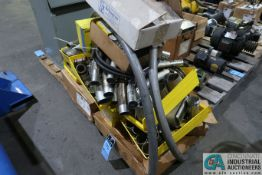 SKID MISCELLANEOUS ELECTRICAL HARDWARE OF CLIPS, CONNNECTORS, PLUGS, AND OTHER RELATED ITEMS