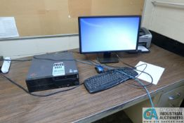 (LOT) TINK CENTRE COMPUTER W/ MONITOR & HP LASERJET P1006 PRINTER