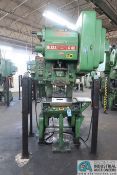 "60 TON BLISS MODEL C-60 OBI PRESS; S/N 70742, 4"" STROKE, 3"" ADJ., 14"" SHUT HEIGHT, 32"" X 21"" BED"