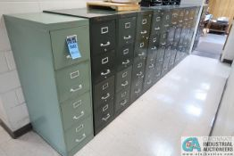 FOUR-DRAWER FILE CABINETS