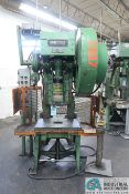 "45 TON SOUTHBEND OBI PRESS; S/N 72155, 3"" STROKE, 11"" SHUT HEIGHT, 3"" ADJ., 125 SPM, 28"" X 18"" BED"