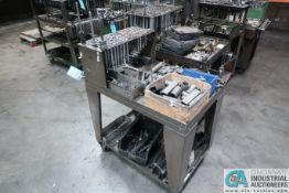 (LOT) CART W/ HOLD DOWN HARDWARE