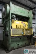 **300 TON VERSON MODEL 300-B2-96 SSDC PRESS; S/N 24623 (24523), WINTRESS DI PRO 1500 CONTROL, 48""