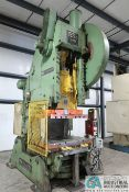 "200 TON USI MODEL 200P701 OBI PRESS; S/N 54-288, 10"" STROKE, 26"" SHUT HEIGHT, 5"" ADJ., 32 SPM,"