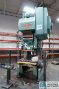 "110 TON BLISS MODEL C-110 OBI PRESS; S/N H-71184, 8"" STROKE, 17"" SHUT HEIGHT, 4"" ADJ., 40 SPM, 27"" X"