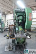 "50 TON WARCO MODEL 50 OBI PRESS; S/N 461856, 6"" STROKE, 5 SPM, 2-1/2"" ADJ., 11"" SHUT HEIGHT"