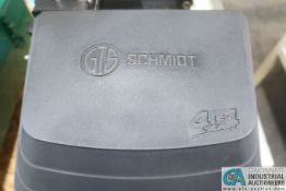GEO. T. SCHMIDT MODEL 4X4/C POWER METAL MARKING MACHINE; S/N 19600