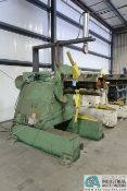 **20,000 LB. IOWA PRECISION MODEL UCR20M36 UNCOILER; S/N 84002 **SUBJECT TO OVERALL BID AT LOT