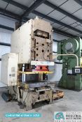 "250 TON CINCINNATI MODEL 250DC GAP FRAME PRESS; S/N 46232, 36"" X 60"" BED, RETROFITTED 2013"