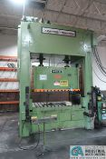 **300 TON CLEARING NIAGARA MODEL SE2-300-84-48UH SSDC PRESS; S/N 54588, OMNILINK II LCD PRESS