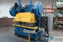 "80 TON ROUSSELLE MODEL 10B80 GAP FRAME PRESS; S/N HBSA7411, OMNI LINK II LCD CONTROL, 23"" X 80"" BED"