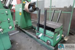 **10,000 LB. CWP MODEL 4.5R-30 UNCOILER; S/N 054486SR, W/ 10,000 CWP COIL CAR **SUBJECT TO OVERALL