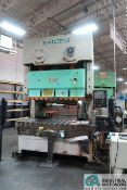 "**200 TON SEYI MODEL SN2-220 GAP FRAME PRESS; S/N EW-D-200-198, OMNI LINK II LCD CONTROL, 33"" X"