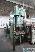 "**88 TON CLEARING NIAGARA MODEL BN80-1 GAP FRAME PRESS; S/N P54231, 6"" STROKE, 19"" SHUT HEIGHT, 4.5"""