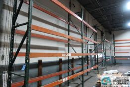 """SECTIONS 36"""" X 120"""" X 12' PALLET RACK"""