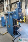 "75 KVA BANNER MODEL 1AP-75-A1 SPOT WELDER; S/N 7149, 16"" THROAT"