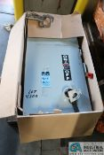 400 AMP GE HEAVY DUTY SAFETY SWITCH; 600 VAC, 350 MAX HP (NEW)
