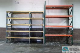 """SECTIONS 36"""" X 96""""/48"""" PALLET RACK (BALANCE OF ROOM)"""