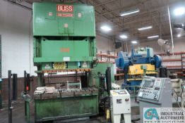 **175 TON BLISS MODEL SG2-175/84X30 GAP FRAME PRESS; S/N K-70939, OMNI LINK II LCD OPERATOR