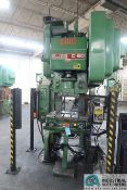"60 TON BLISS MODEL C-60 OBI PRESS; S/N 71195, 4"" STROKE, 3"" ADJ., 14"" SHUT HEIGHT, 32"" X 21"" BED,"