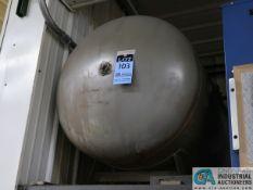 HORIZONTAL AIR RECIEVING TANK