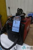 LINCOLN ELECTRIC 125 EASY CORE MIG WELDING POWER SOURCE; S/N M3170402128, WITH BUILT IN WIRE FEEDER,