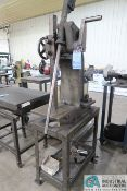 EVANSVILLE ARBOR PRESS CO MODEL 3-A HEAVY DUTY STAND MOUNTED ARBOR PRESS