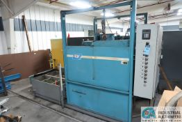 """**50"""" ADF MODEL 900 ROTARY PASS THRU PARTS WASHER; S/N 7-4160 **LOCATED IN COLUMBIA CITY, INDIANA**"""