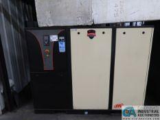 25 HP INGERSOLL RAND MODEL IRN-25H-CC-HV AIR COMPRESSOR; S/N CBV124066 (NEW 2006)
