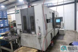 **MORI SEIKI MODEL NH5000/50 CNC HORIZONTAL MACHINING CENTER; S/N NH501EC0806 (3/2005), MORI SEIKI