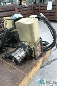 **NIKKEN ROTARY 4TH AXIS WITH FANUC AC SERVO MOTOR **LOCATED IN COLUMBIA CITY, INDIANA**
