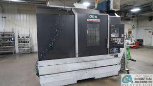 MORI SEIKI MODEL DURA-VERTICAL 5100 CNC VERTICAL MACHINING CENTER; S/N DV005FK0237 (NEW 11-2006),