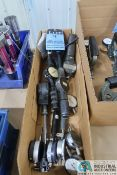 (LOT) MISCELLANEOUS SIZE DIGITAL AND DIAL BORE GAGES