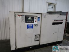 60 HP INGERSOLL-RAND MODEL SSR-EP60 CABINET ENCLOSED ROTARY SCREW AIR COMPRESSOR; S/N