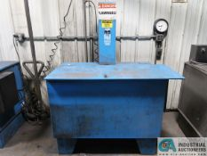 80 GALLON CRYSTAL KLEEN STEEL SOLVENT AGITATING LIFT PARTS WASHER