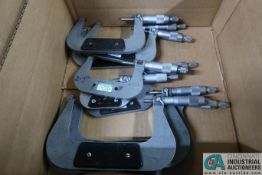 "MISCELLANEOUS SIZE MICROMETERS FROM 6"" - 1"""