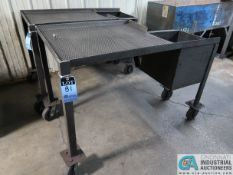 PORTABLE STEEL FRAMED PARTS DRYING CARTS
