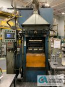 400 TON CORSTEEL MODEL PM-400-1618-ID HYDRAULIC MOLD PRESS; S/N CH-1670-07-01-1, 2,550 MAX PSI **