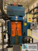 "300 TON CORSTEEL MODEL 300 TQN-5DL-CP 5-PLATTEN HEATED PRESS; S/N CH-2016, 1,910 MAX PSI, 27"" X"