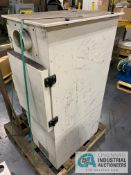 QUATRO CSA6B6I-S4G-EA-8 FUME EXTRACTOR WITH DISCONNECT AND 5 KVA TRANSFORMER **RIGGING FEE DUE TO