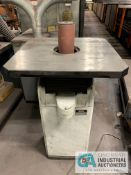 JET MODEL JOSS-S FLOOR SPINDLE SANDER; S/N 19062029 **RIGGING FEE DUE TO SHOEMAKER $150.00**
