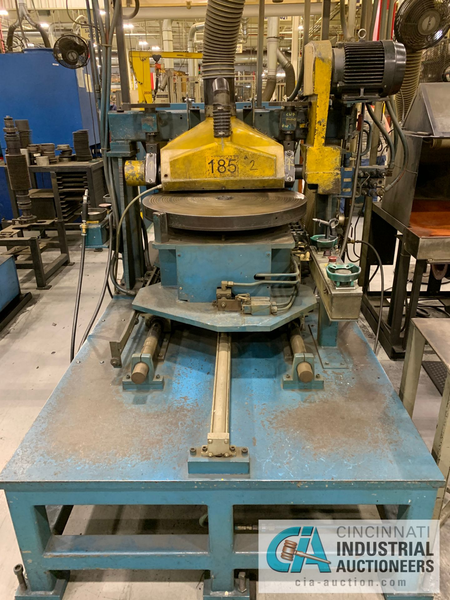 **MANUAL GROOVER (DELAYED REMOVAL: 10/1/2020) **RIGGING FEE DUE TO SHOEMAKER $600.00**