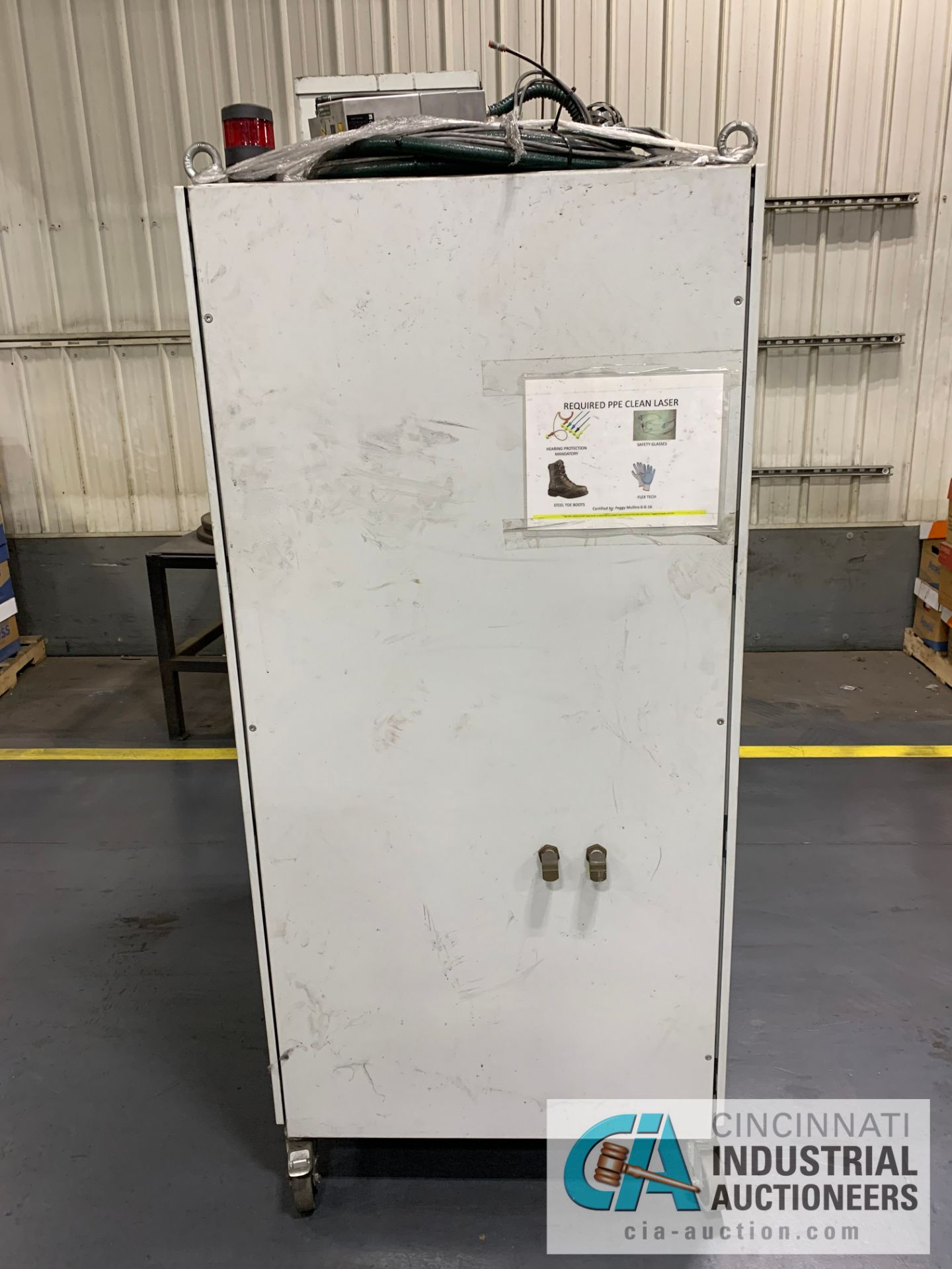 Lot 6 - 150 WATT CLEANLASER CL-150 CNC COMPACT CLEANING LASER; S/N L15-1600 (2015) SIEMENS SIMATIC PANEL